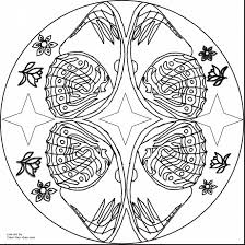 marvelous butterfly mandala coloring pages for adults with free