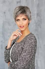 coupe pour cheveux gris perruque cheveux gris poivre et sel confort moyen boutique de