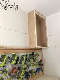 how to make storage cabinets diy cabinets for a garage workshop or craft room shanty