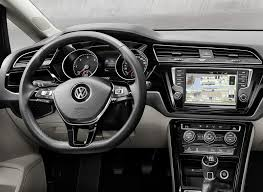 volkswagen van 2015 interior it u0027s official all new vw touran based on mqb platform w video
