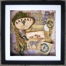 Ica Home Decor by Safari Journey Shadow Box Art The Creative Studio