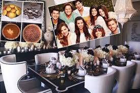 khloe home interior khloe reveals home cooked thanksgiving meal as she