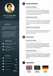 Creative Resumes Templates Free Best 25 Resume Templates Free Download Ideas On Pinterest Cv