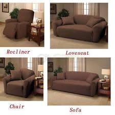 slipcover for recliner sofa unbranded furniture slipcover ebay