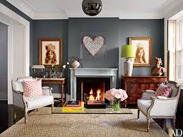 Elle Decor Celebrity Homes Brooke Shields U0027s Luxurious Townhouse In New York City