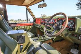 Classic Range Rover Interior Range Rover Harrods Edition Expected To Fetch 30 000 At Auction