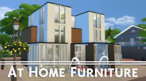 At Home Furniture The Sims 4 House Building