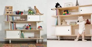 meubles rangement chambre enfant meuble rangement pour enfant tagres modulables fixer au mur ou