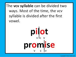 v cv decoding unit 1 lesson 4 vcv and vccv
