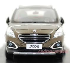 peugeot model 2013 1 18 peugeot 3008 2013 die cast model gold new arrivals special