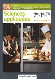 sciences appliqu s cap cuisine sciences appliquées 2de 1re tle bac pro catherine armagnac