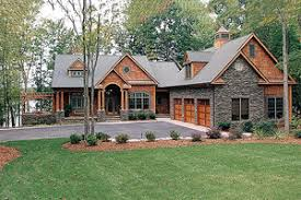 hillside cabin plans sloping lot plans houseplans com