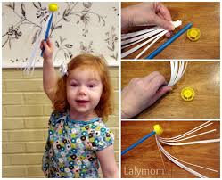 make a fireworks wand as a last minute 4th of july craft lalymom