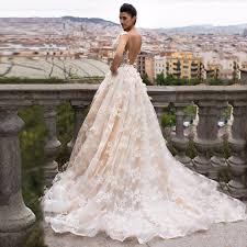 beige wedding dress 2017 garden beige lace wedding dress middle east dubai saudi