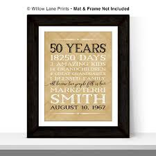 50 wedding anniversary gift gifts 50th wedding anniversary luxury 50th anniversary gift for