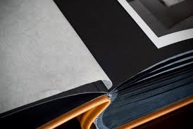 photo album with black pages made leather wedding albums my italian wedding