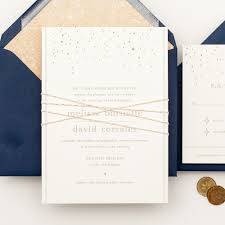 Unique Invitation Card Ideas Navy And Gold Wedding Invitations Redwolfblog Com