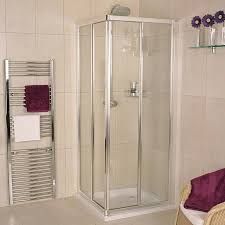 Sliding Shower Doors For Small Spaces Space Saving Shower Enclosures Showers