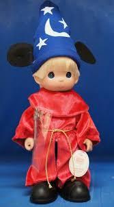pocahontas disney treasure precious moments doll signed