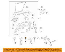 lexus is300 for sale pittsburgh toyota oem interior lower quarter trim retainer 9046710183 ebay