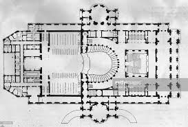 Floor Plan Of White House Opera House Plan Pictures Getty Images