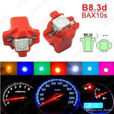 Color Interior Lights For Cars Feeldo Multi Color 12v Dc B8 3d Bax10s 5050 Smd Gauge Dashboard