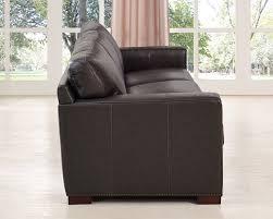 Leather Sofa Wooden Frame Decoro Leather Sofa With Hardwood Frame Sofa Hpricot Com