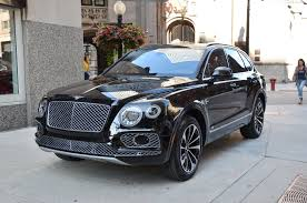 gold bentley 2017 bentley bentayga stock b807 for sale near chicago il il