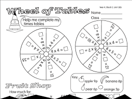 3 times table worksheet wheel of tables a year 3 times tables worksheet