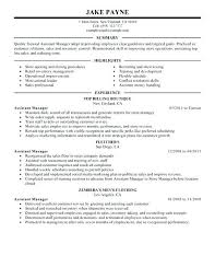 retail assistant manager resume sample retail manager resume