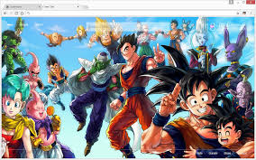 dragon ball goku dbz wallpapers hd tab chrome store