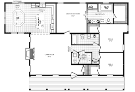 Floor Plans For Ranch Style Homes The Rosewood Ranch Style Modular Home Floor Plan