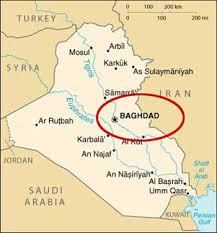 baghdad on a map baghdad on the map major tourist attractions maps