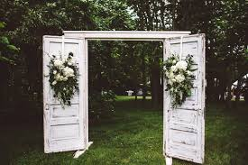 wedding backdrop doors rustic vintage lake house wedding cabin wedding 100 layer cake