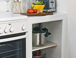 plan de travail carrelé cuisine cuisine réaliser un plan de travail carrelé