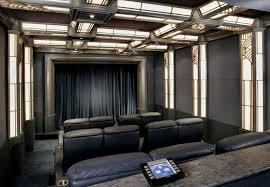 Home Theatre Design Los Angeles Los Angeles Home Theater Room Traditional With Black Stage