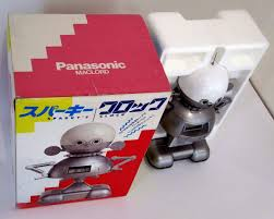 panasonic maclord sparly u0027s clock robot the old robots web site