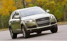 2007 audi q7 reviews 2007 audi q7 3 6 drive review reviews car and driver