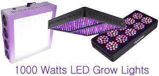 Best Led Grow Lights Best 1000 Watt Led Grow Lights For Sale In 2017 Indoor Grow Led