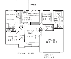 danford house plans builder construction floor plans