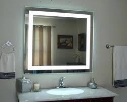 Magnifying Bathroom Mirror With Light Lighted Bathroom Mirrors Magnifying Juracka Info
