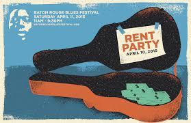 party rent blues rent party baton blues festival