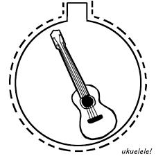ukulele ornament by thebluekulele on deviantart