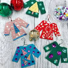 diy ugly sweater ornaments beacon adhesives the creative