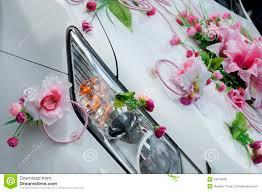 wedding car decoration royalty free stock photos image 33813528