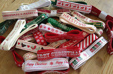 merry christmas ribbon christmas ribbon ebay