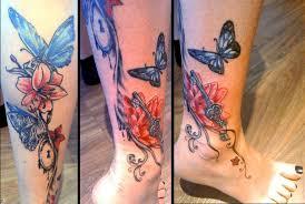 butterflies and lilies by artofasthar on deviantart