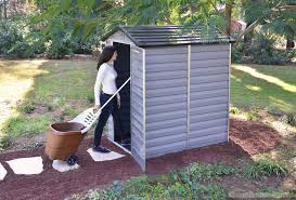 garden tool shed plastic home outdoor decoration