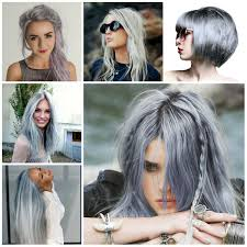 grey hairstyle ideas hair color trend for 2017 hair color