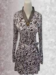 Baju Batik Batik baju batik batik lengan panjang motif abstrak batik indonesia modern